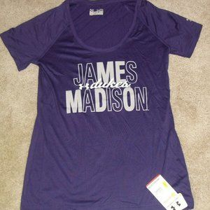 James Madison Dukes Under Armour womens t-shirt Md